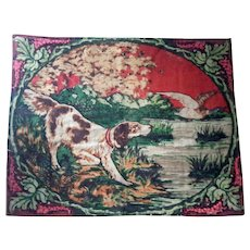 Chase Horse Blanket With Hunting Dog