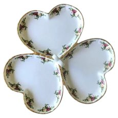 Royal Albert Old Country Roses Triple Heart Dish