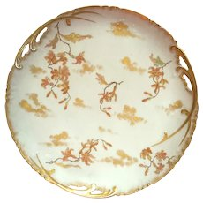 Antique French Haviland Limoges Porcelain Serving Plate