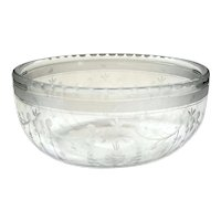 Pairpoint Etched Glass Bowl
