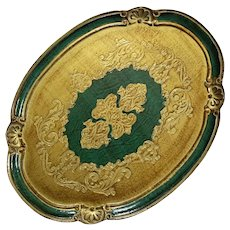 Florentine Gilt Wood Tray