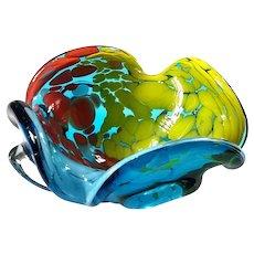 Murano Glass Multicolored Bowl