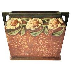 Roseville Pottery Dahlrose Pillow Vase, Circa 1924