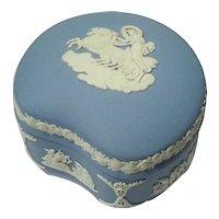 Wedgwood Blue Jasperware Trinket Box