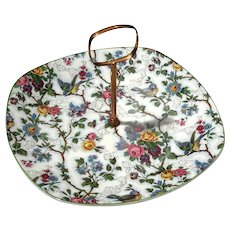 Stylecraft Lorna Doone Bird Chintz Tray With Handle