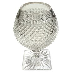 Early American Pattern Glass Pedestal Rose Bowl