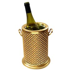 Mid-Century Hollywood Regency Champagne Wine Cooler