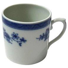 Vista Alegre Portuguese Porcelain Demitasse Cup