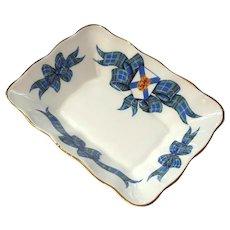 Royal Albert Bone China NOVA SCOTIA TARTAN Pattern Square Dish