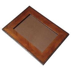 Natalini Hand-Made Italian Marquetry Wood Photo Frame