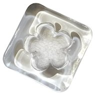 A Vintage Signed Rosenthal Studio Line Paperweight Flower