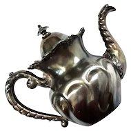 James W Tufts Quadruple Plate Teapot