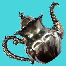 James W Tufts Quadruple Plate Teapot