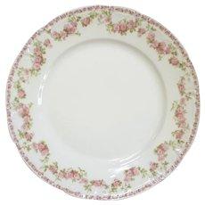 Set Of Twelve GDA Limoges Porcelain Lunch Plates