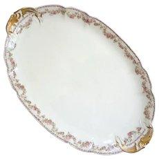 Extra Large  GDA Limoges Porcelain Platter