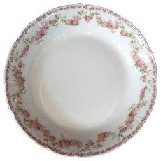 Set Of Twelve GDA Limoges Porcelain Soup Bowls