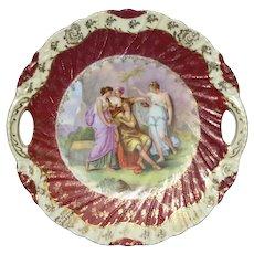 Artist Signed Victoria Carlsbad Austrian Porcelain Plate