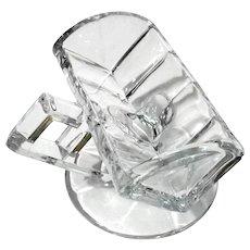 Heisey Glass Handled Sugar Cube Server
