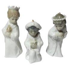 Lladro Porcelain Three Kings