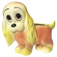 Shawnee Pottery Puppy Planter