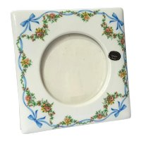 French Limoges Porcelain Picture Frame