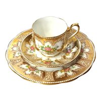 Royal Albert Royalty Cup & Saucer Trio