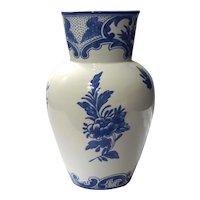 Tiffany & Co Delft Pottery Vase