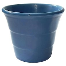 Bauer Pottery Los Angeles Blue Flower Pot