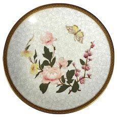 Royal Worcester Plate,  Circa 1867