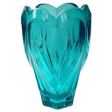 Marquis By Waterford Turquoise Sweet Memories Vase