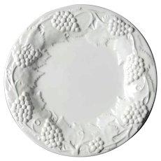 Set Of Four Bordallo Pinheiro Portuguese Majolica Lunch Plates