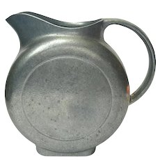 Wilton Pewter Aluminum Disc Pitcher