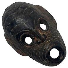 Antique African Carved Wood Mask