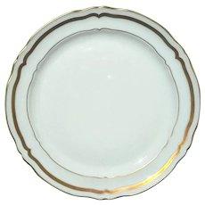 Set Of Three Raynaud & Co Limoges Porcelain Plates