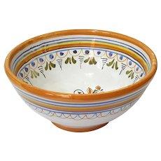 Spanish Talavera Pottery Bowl