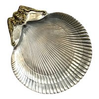Arthur Court Aluminum Scallop Shell Tray