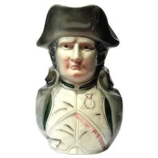 Napoleon Pottery Coin Bank Jug