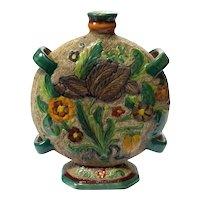 Italian Majolica Pottery Vase
