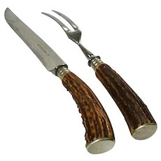 Antler Carving Set