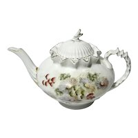 19th Century Continental Porcelain Teapot