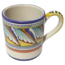 Italian Deruta Pottery Mug