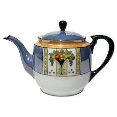Vintage Noritake Luster Porcelain Teapot