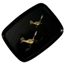 Couroc Of Monterey Road Runner Tray
