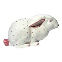 Tiffany & Co Pottery Rabbit Bank
