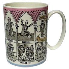 Wedgwood Porcelain Gilbert Sullivan Operas Mug