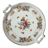 Schumann Bavaria Dresdener Art Porcelain Serving Tray