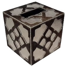 Kim Seybert Casablanca Tissue Box