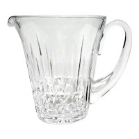 Signed Waterford Cut Crystal Pitcher