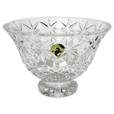 Waterford Cut Crystal Balmoral Footed Bowl