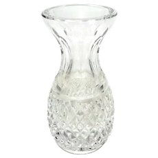 Small Waterford Cut Crystal Bud Vase